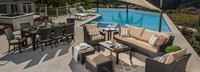 Deco™ 20 Piece Outdoor Estate Set - Sunset Red