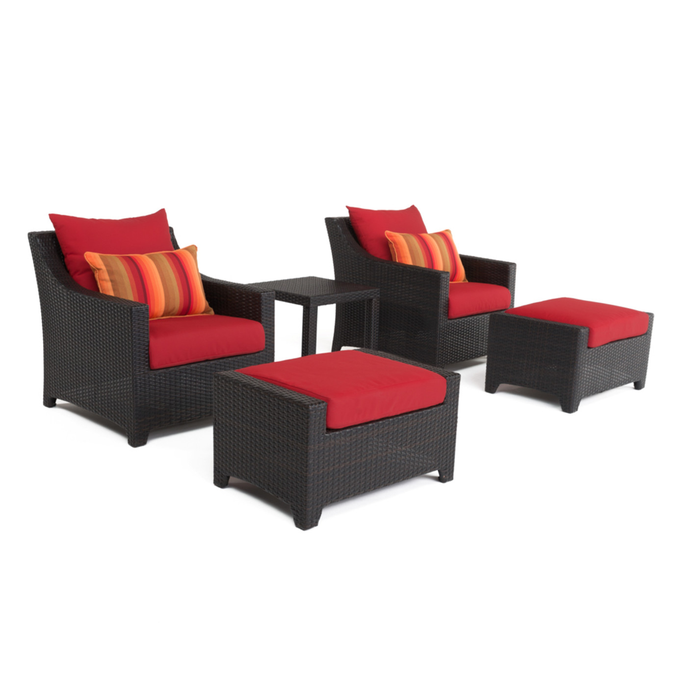 Deco™ 20pc Outdoor Estate Set - Sunset Red