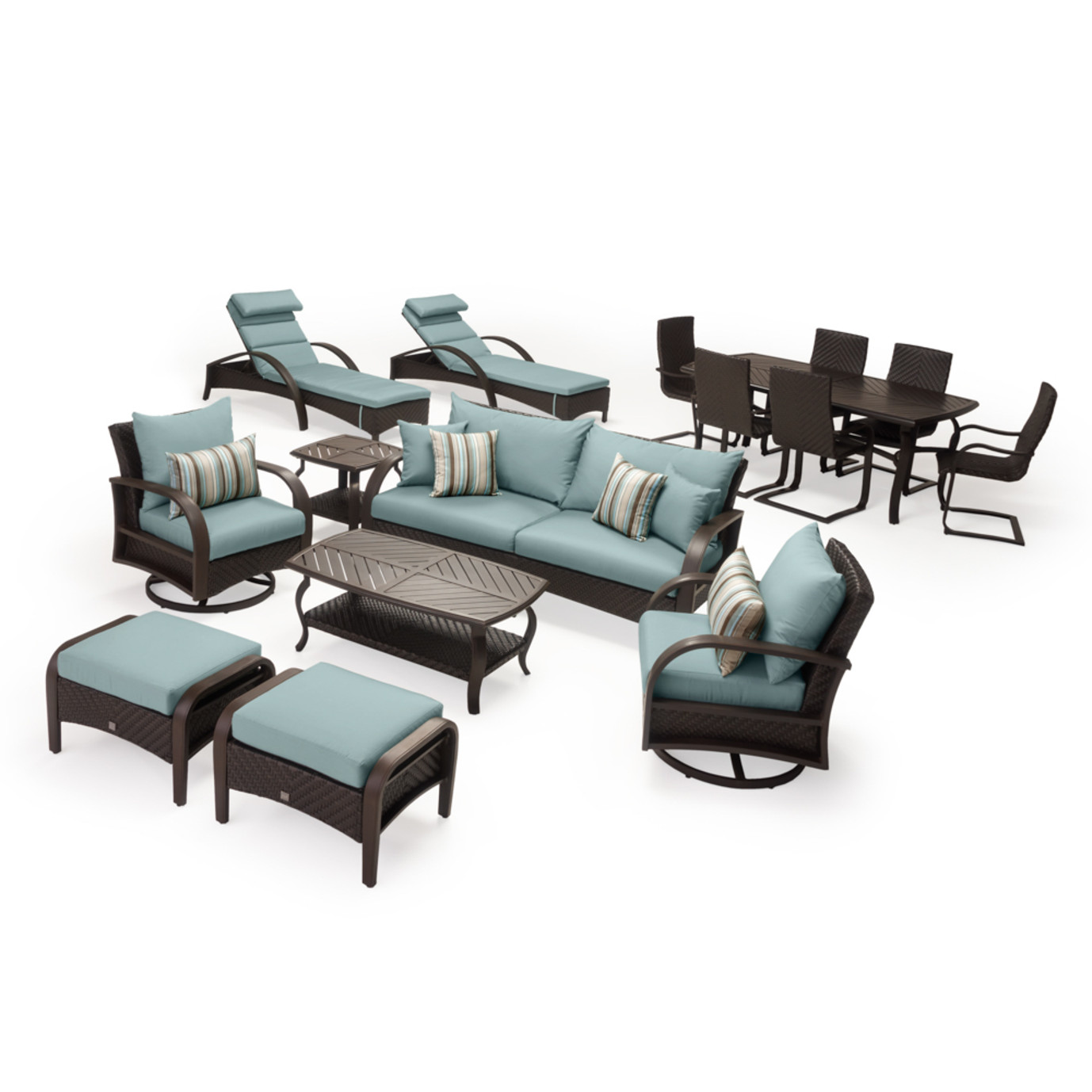 Barcelo™ 16pc Estate Collection - Bliss Blue