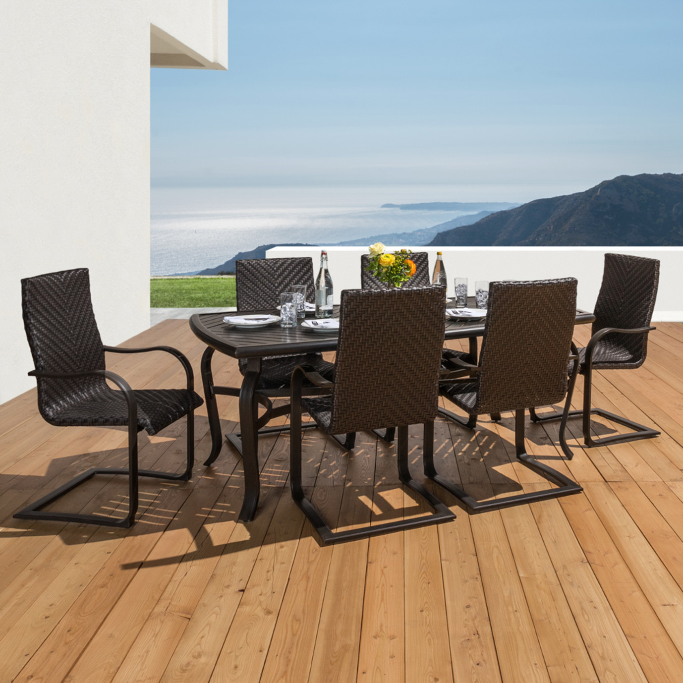 Barcelo™ 16 Piece Estate Collection - Charcoal Gray