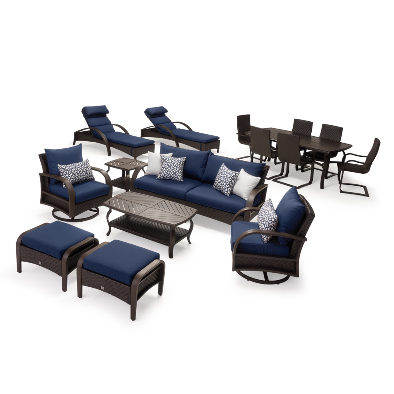 Barcelo™ 16 Piece Estate Collection - Navy Blue
