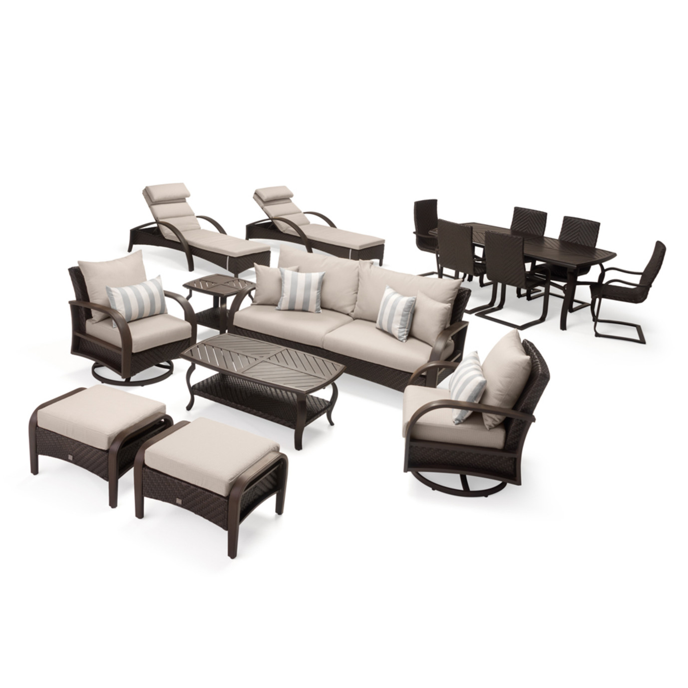 Barcelo 16 Piece Estate Collection - Slate Gray