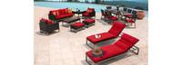 Milo™ Espresso 18 Piece Estate Set - Sunset Red