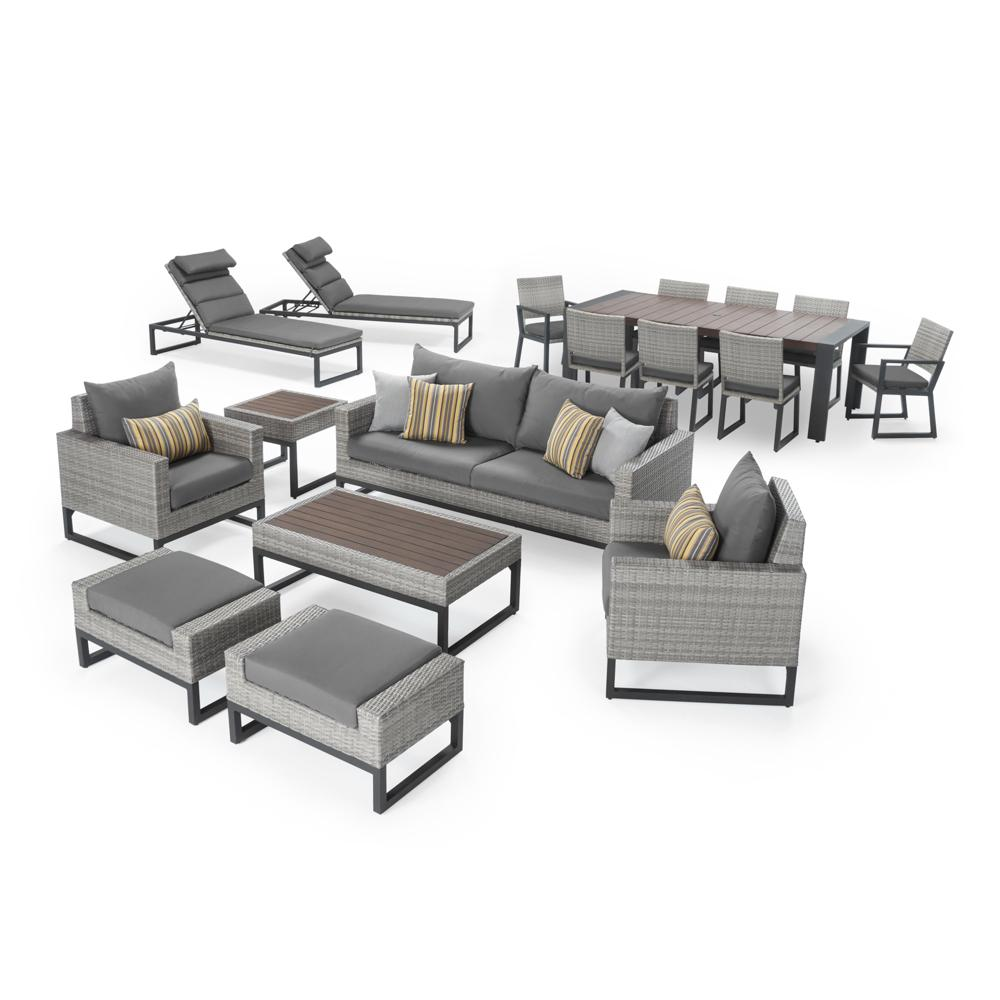 Milo™ Grey 18pc Estate Set - Charcoal Grey