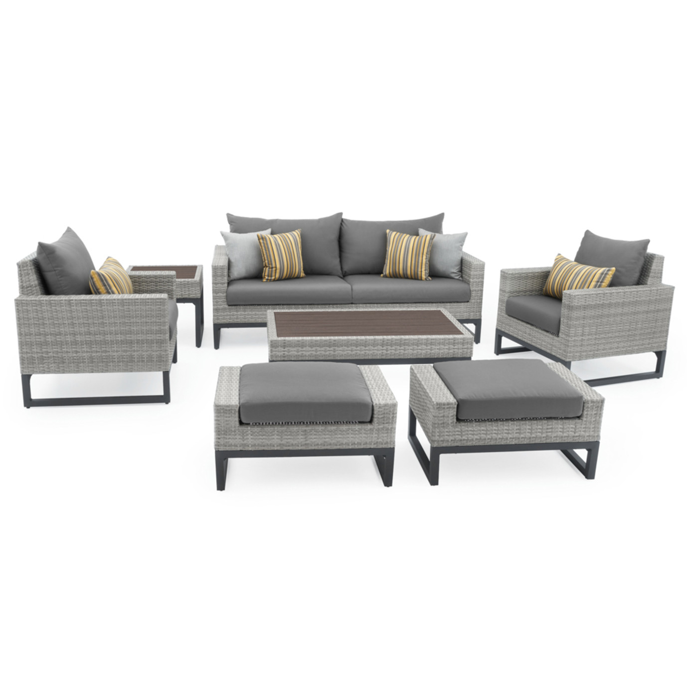 Milo™ Gray 18pc Estate Set - Charcoal Gray