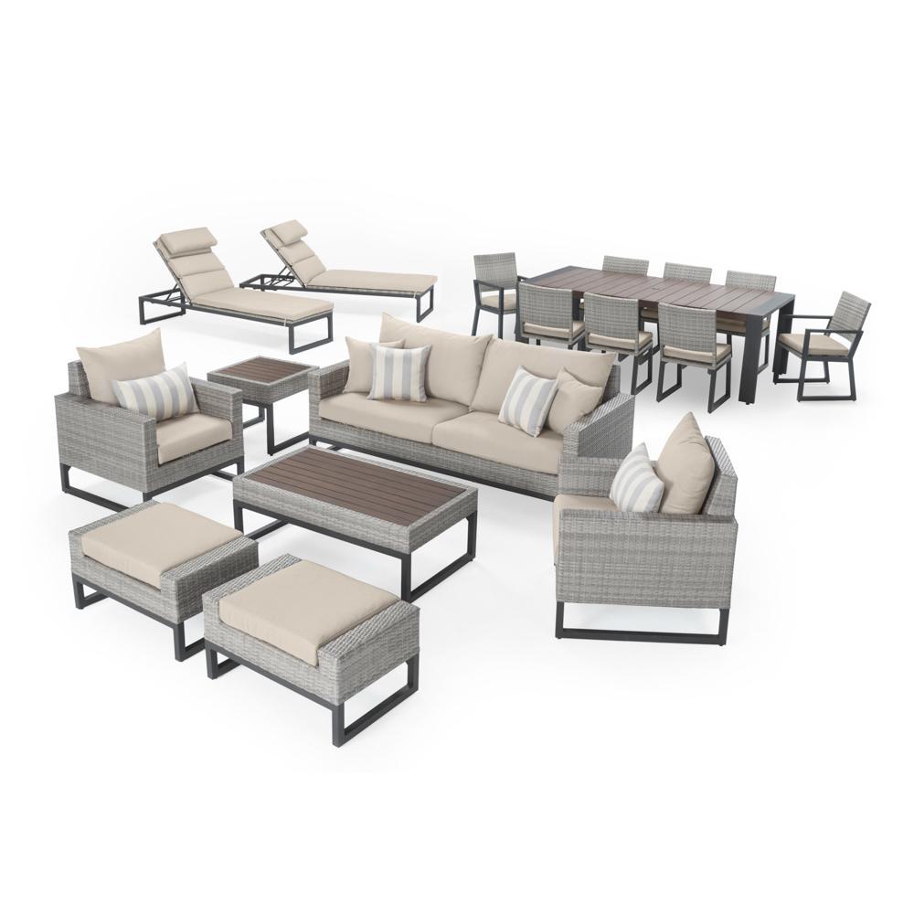 Milo™ Grey 18pc Estate Set - Slate Grey
