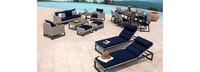 Milo™ Gray 18 Piece Estate Set - Spa Blue