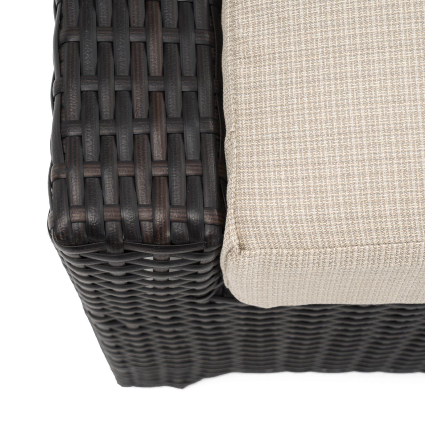 Deco™ Loveseat and Ottoman - Slate Gray