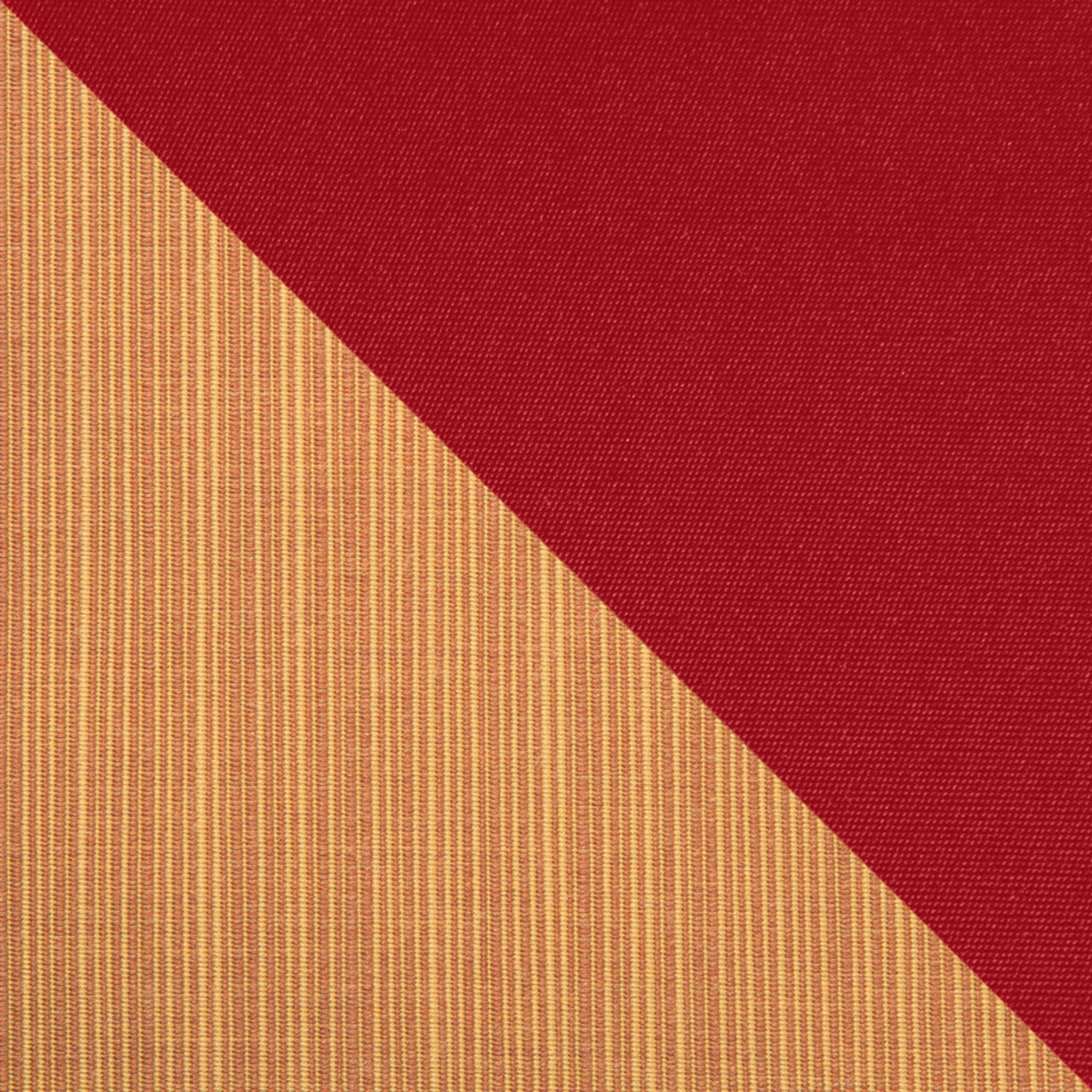 Deco™ Loveseat & Ottoman - Sunset Red