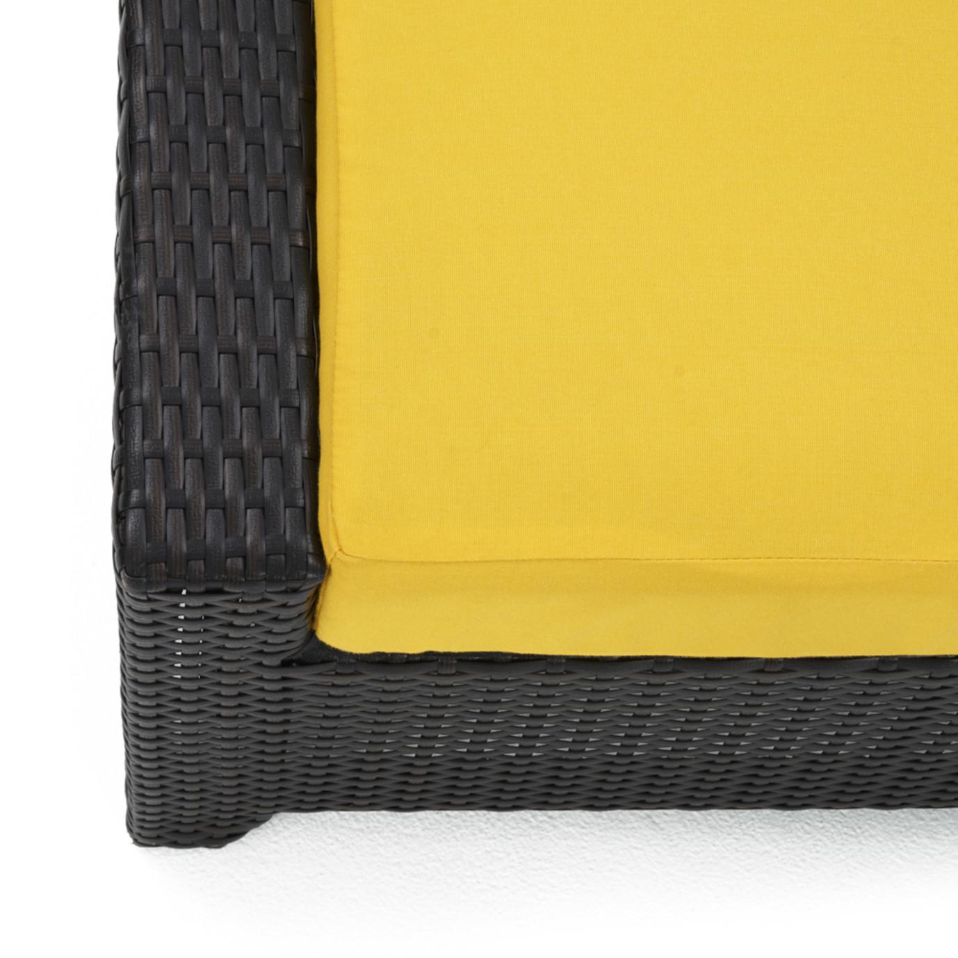 Deco™ Loveseat & Ottoman - Sunflower Yellow