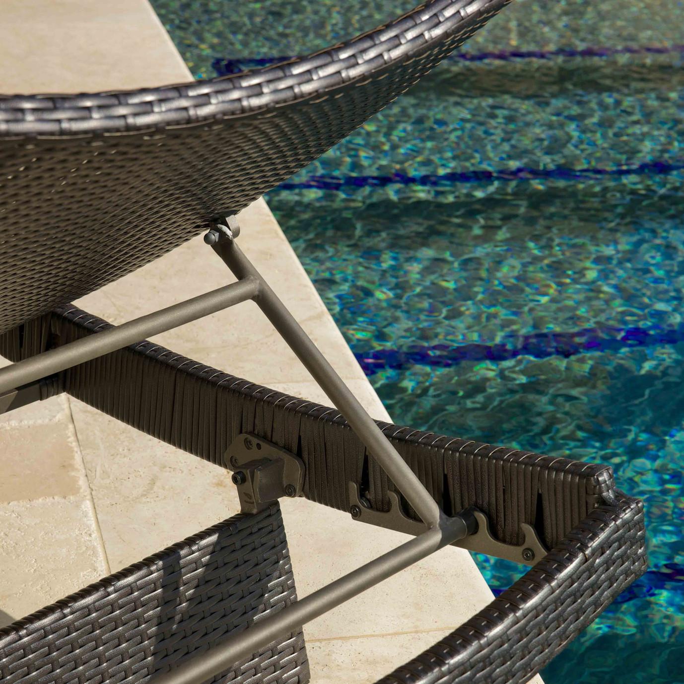 Portofino® Comfort 3pc Chaise Lounge Set - Heather Beige