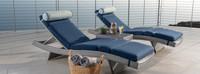 Portofino® Comfort 3 Piece Chaise Lounge Set - Laguna Blue