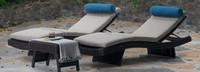 Portofino® Repose 3pc Chaise Lounge Set - Dove Gray