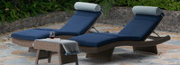 Portofino® Repose 3pc Chaise Lounge Set - Laguna Blue