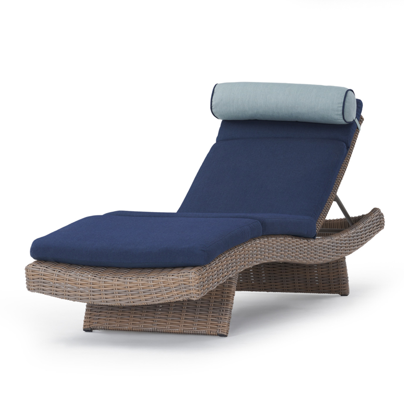 Portofino Repose 3pc Chaise Lounge Set - Laguna Blue