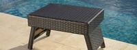 Portofino® Comfort 2 Loungers & Table - Espresso