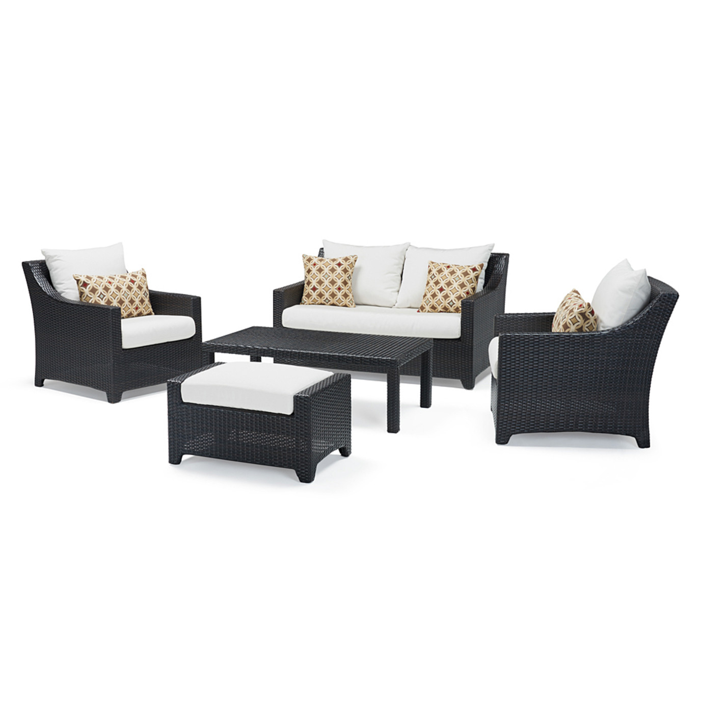 Deco™ 5pc Love and Club Seating Set - Moroccan Cream