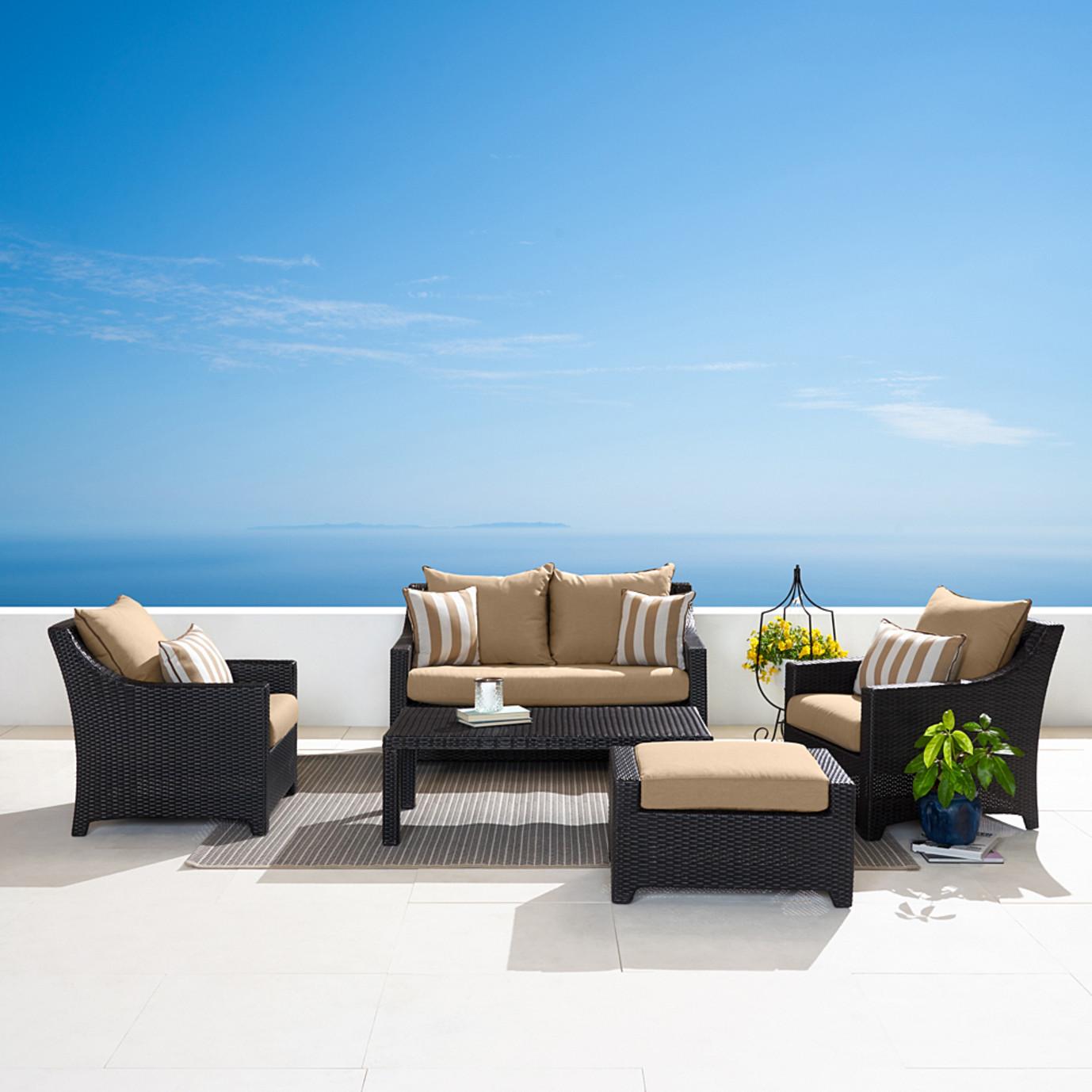 Deco™ 5 Piece Love & Club Seating Set - Maxim Beige