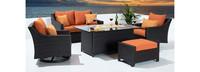 Deco™ 5 Piece Love & Motion Club Fire Set - Tikka Orange