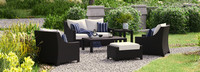 Deco™ 6 Piece Love and Club Seating Set - Centered Ink