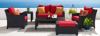 Deco™ 6 Piece Love and Club Seating Set - Moroccan Cream