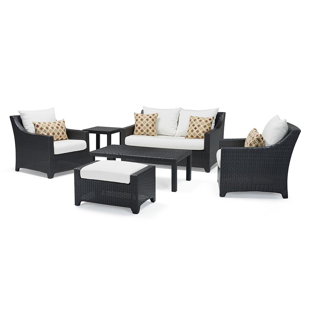 Deco 6pc Love & Club Seating Set - Moroccan Cream