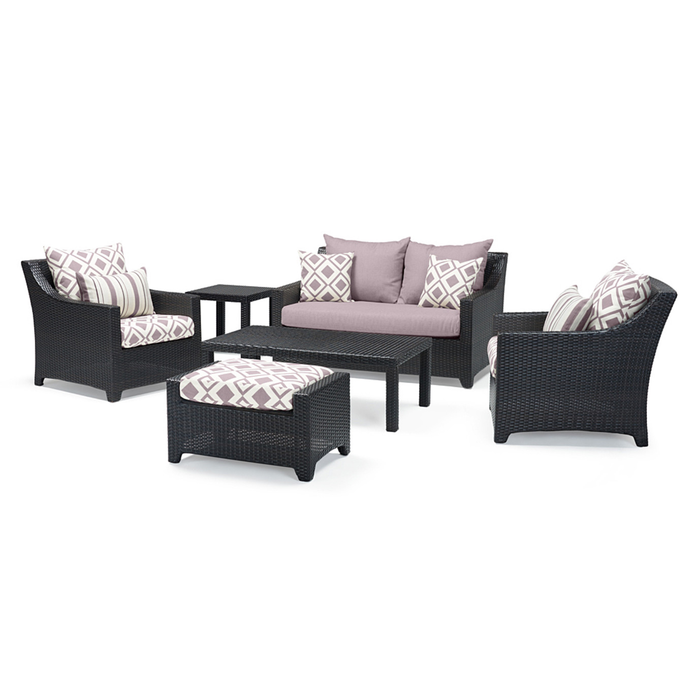 Deco™ 6 Piece Love & Club Seating Set - Wisteria Lavender