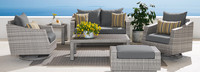 Cannes™ 6 Piece Love & Motion Club Seating Set - Bliss Ink