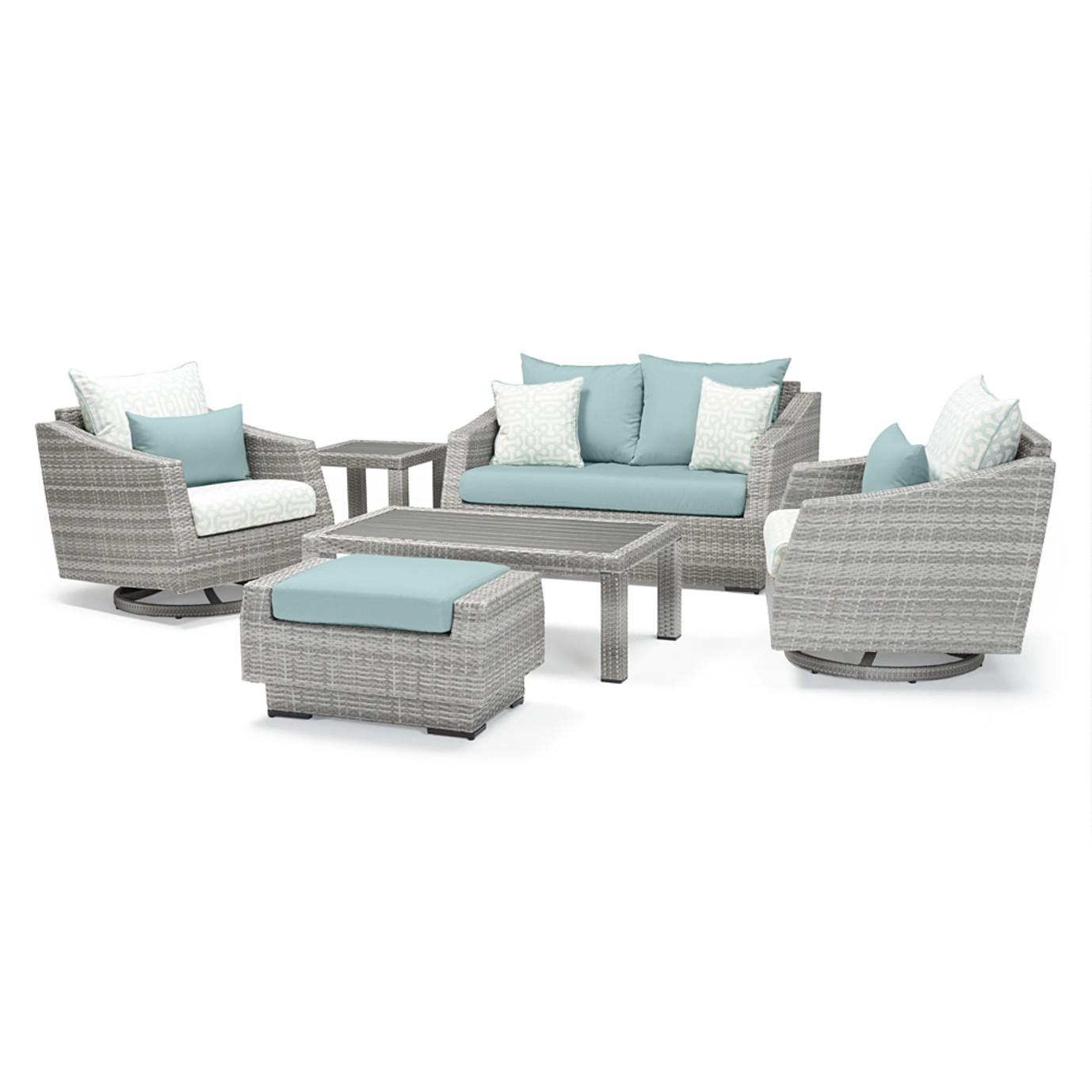 Cannes™ 6 Piece Deluxe Love & Motion Club Set