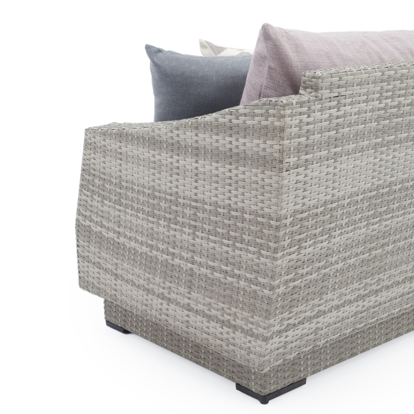 Cannes™ Deluxe 6pc Love & Motion Club Chair Set - Wisteria Lavender