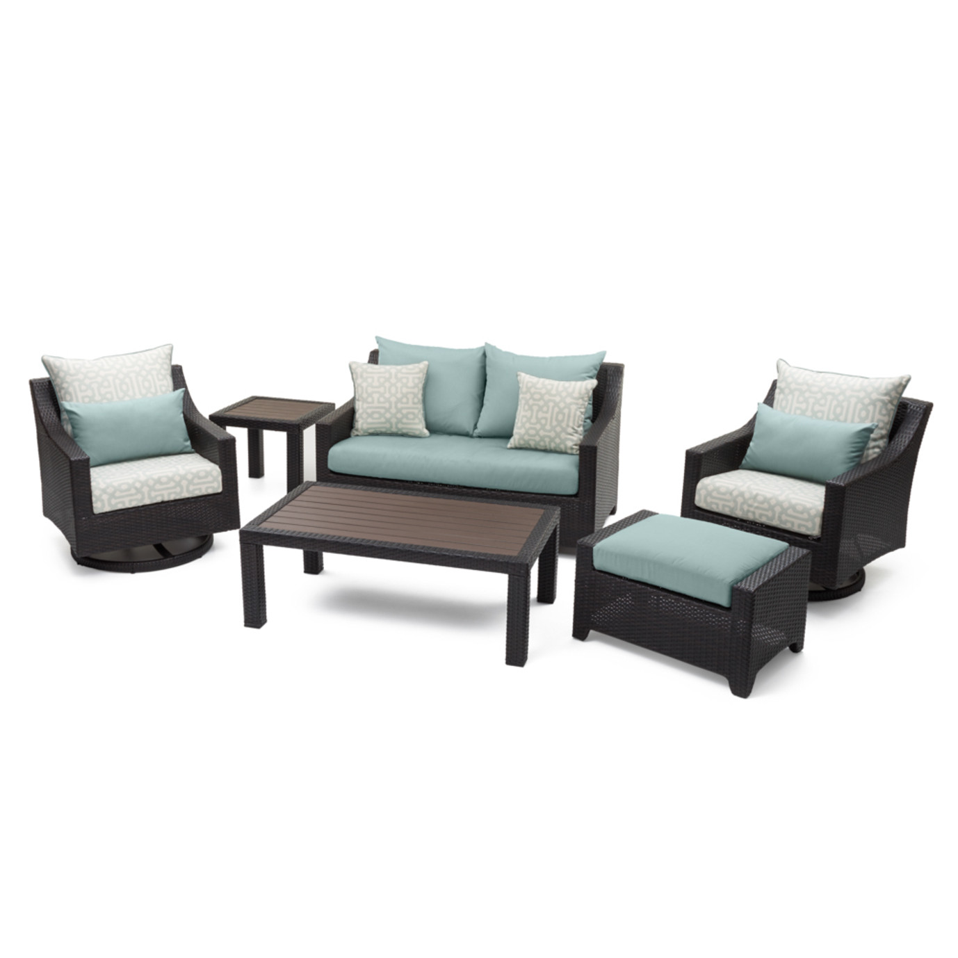 Deco™ Deluxe 6 Piece Love & Motion Club Seating Set