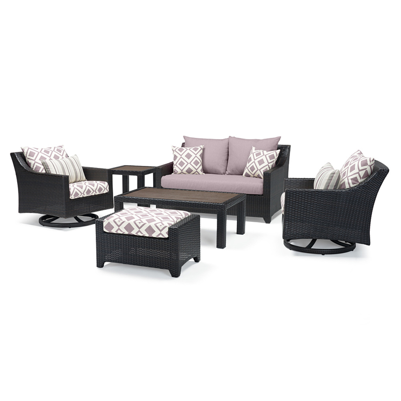 Deco™ Deluxe 6pc Love & Motion Club Set - Wisteria Lavender