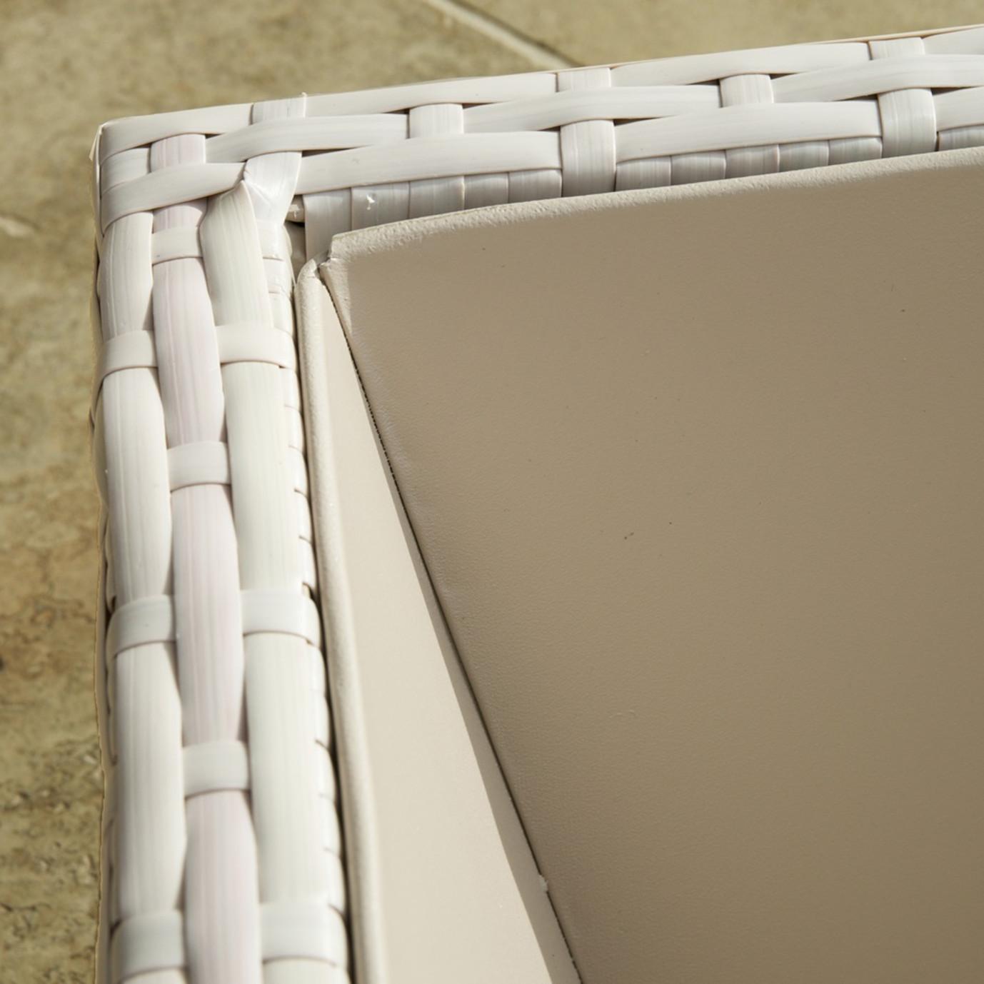 Portofino™ Comfort Woven Planter 3pk - Chalk