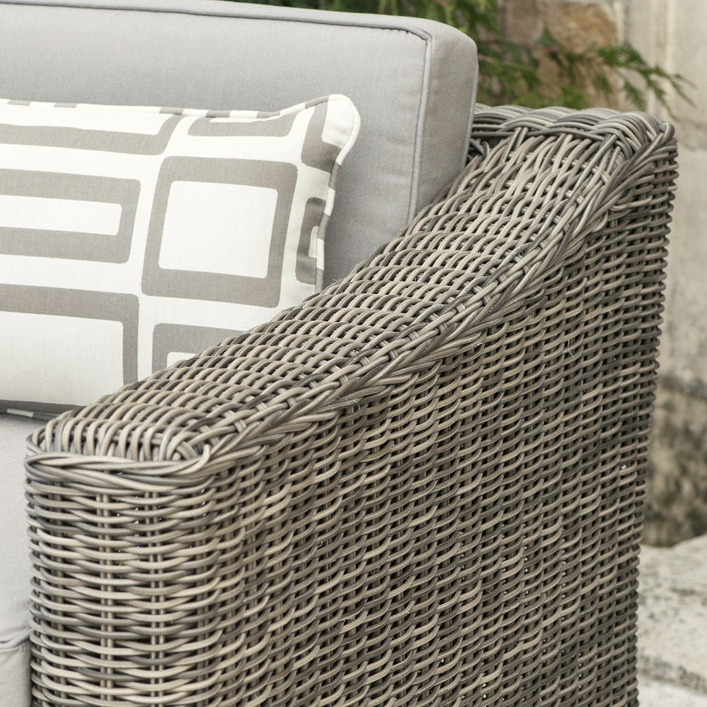 Resort™ Deluxe 5pc Seating Set - Weathered Grey