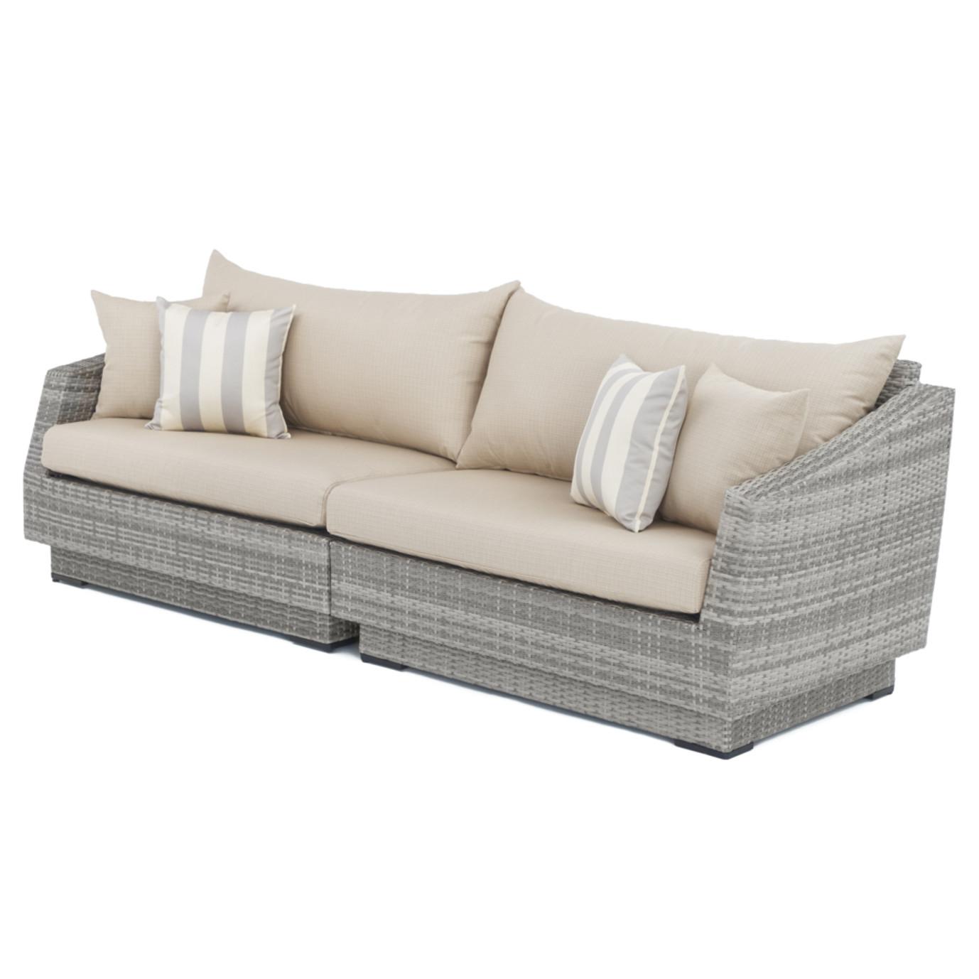 Cannes™ Sofa - Slate Gray
