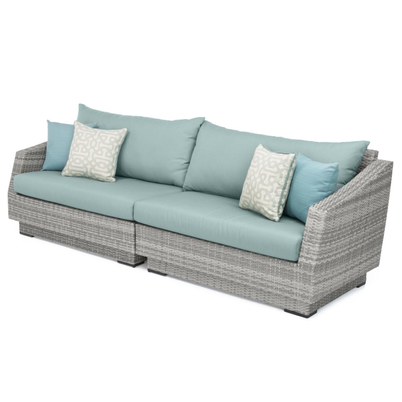 Cannes™ Sofa - Spa Blue