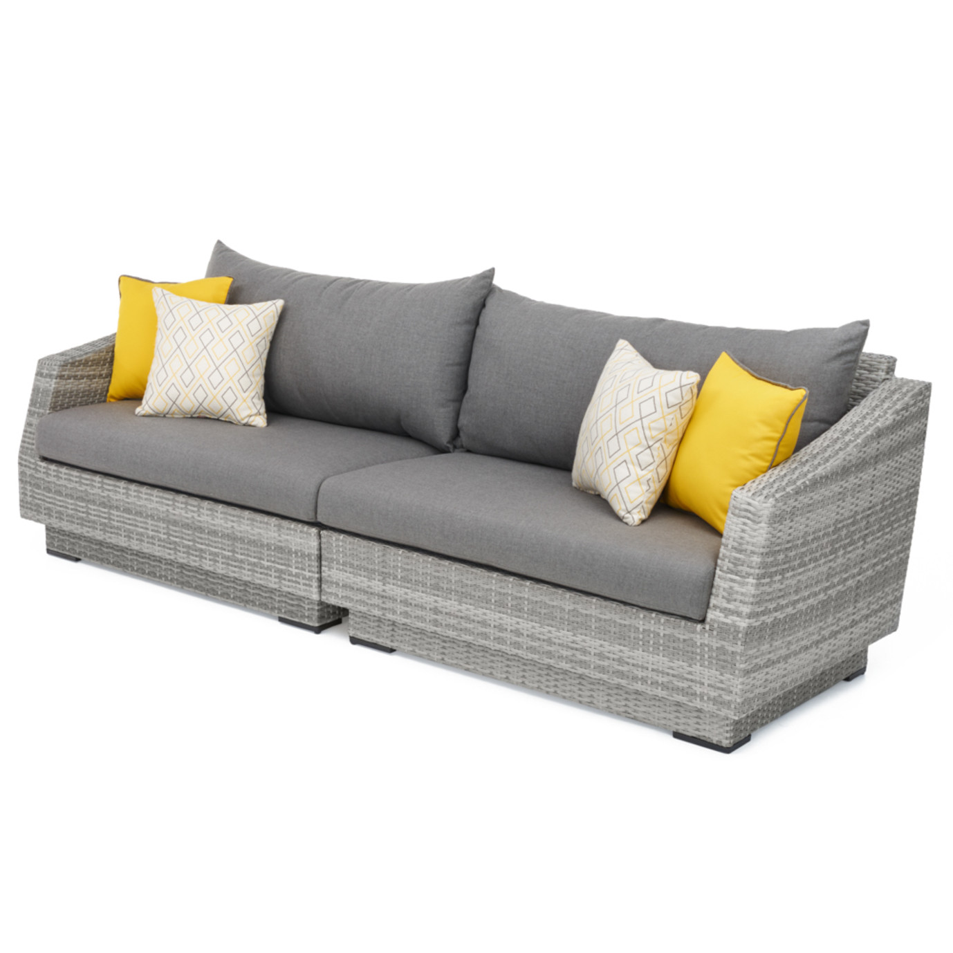 Cannes Sofa Sunflower Yellow Rst Brands