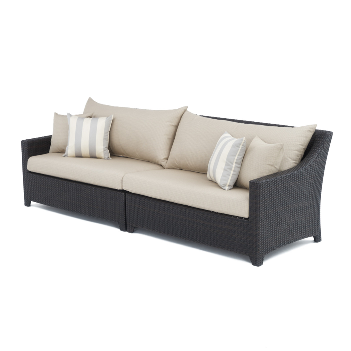 Deco Sofa Slate Grey Rst Brands
