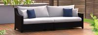 Deco™ Sofa - Sunset Red