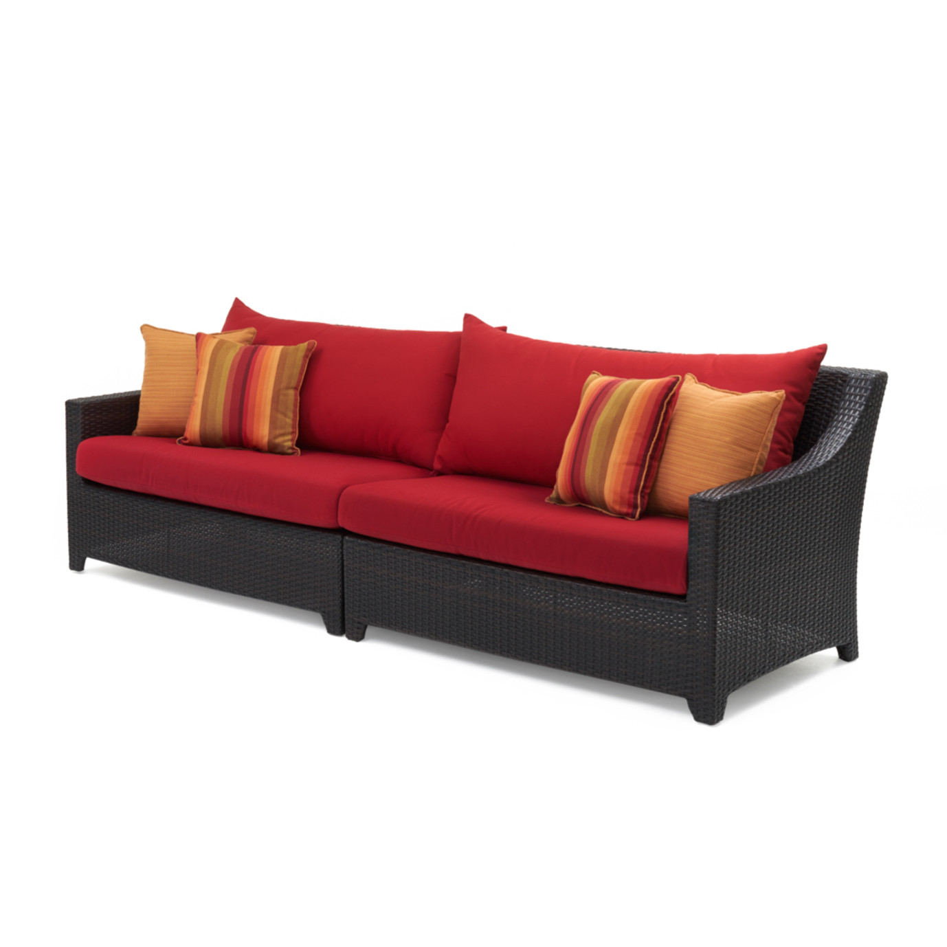 Deco™ Sofa - Sunset Red