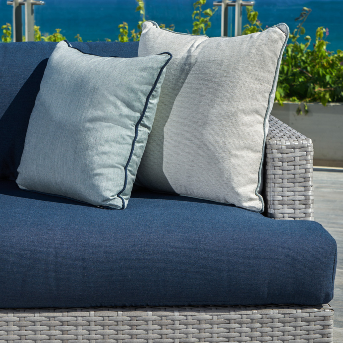 Portofino™ Comfort 71in Loveseat - Laguna Blue