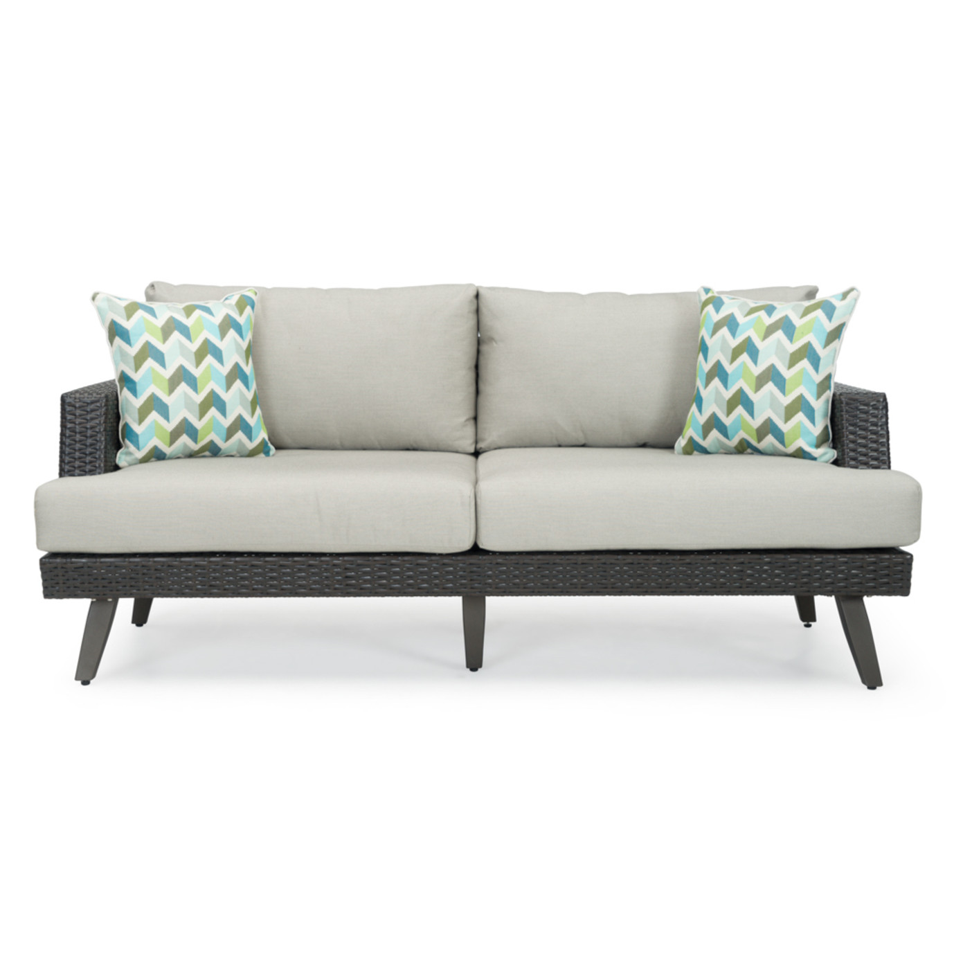 Portofino® Casual 71in Loveseat - Dove Gray