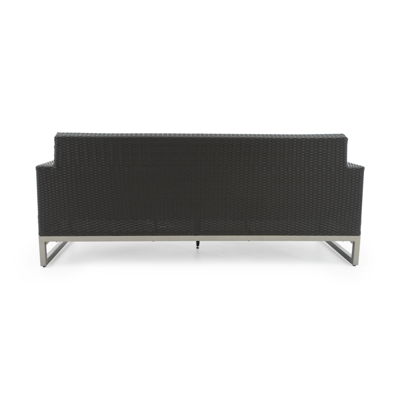Milo™ Espresso 78in Sofa - Charcoal Gray