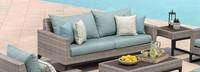 Milo™ Gray 78in Sofa - Charcoal Gray