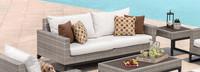 Milo™ Gray 78in Sofa - Moroccan Cream