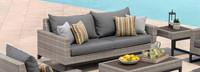 Milo™ Gray 78in Sofa - Navy Blue