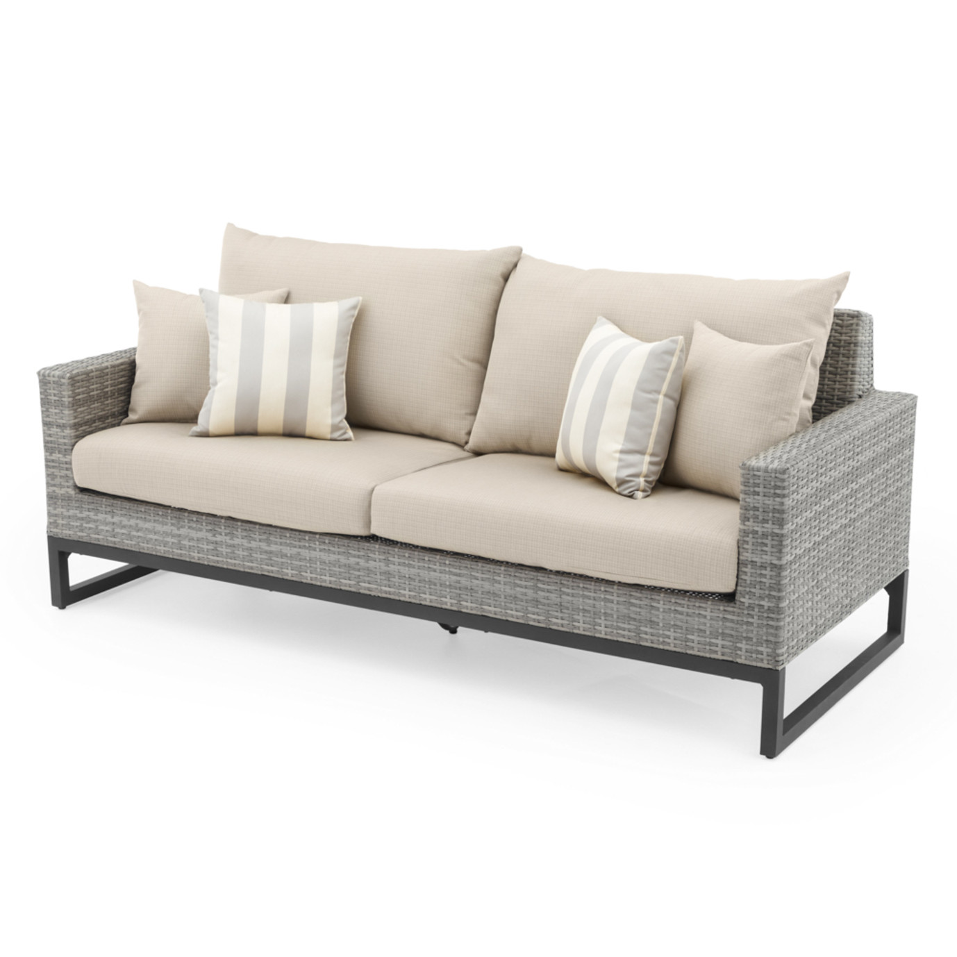 Milo™ Gray 78in Sofa - Slate Gray