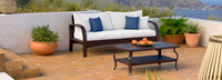 Barcelo™ Sofa & Coffee Table - Bliss Ink