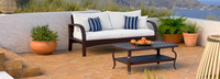 Barcelo™ Sofa & Coffee Table- Centered Ink