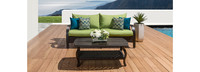 Barcelo™ Sofa & Coffee Table - Ginkgo Green